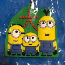 Minions Kyoto Limited Mt. Daimonji Rubber Key Holder from Kyoto Japan