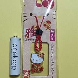 Hello Kitty Japanese Style Courtly Key Chain Strap Accessory from Japan