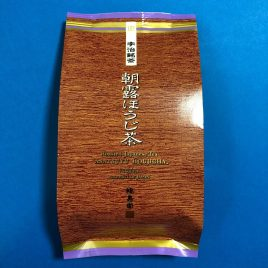 Kyoto Uji Fukujuen Roasted Hojicha Japanese Tea ASATSUYU 100g bag Japan