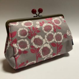 seisuke88 Canvas Cloth Pouch Japanese Traditional Kimono Motif Kyoto Japan