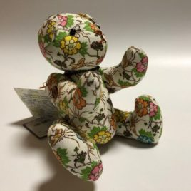 seisuke88 Teddy Bear Long Tailed Fowl and Tree Peony from Kyoto Japan
