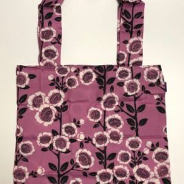 F/S seisuke88 Polyester Eco Bag Camellia Pattern from Kyoto Japan