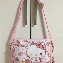 Hello Kitty Dearisimo Clutch Shoulder 2 Way Bag Pink Cute Kawaii Kyoto Japan
