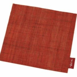 Yojiya Case for Aburatorigami Face Oil Blotting Paper Hemp Madder Red Japan