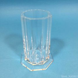 F/S Hakuhodo Acrylic Makeup Brush Holder Diameter 30mm Height 74mm Kyoto Japan