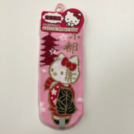 F/S Hello Kitty Cute Kawaii Ltd. in Kyoto Maiko San Socks in Pink 22-24cm