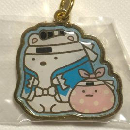 F/S Sumikko Gurashi White Bear Kyoto Shinsengumi Cute Kawaii Key Chain Strap