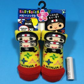 F/S Baby Socks Japanese Ninja Cute Kawaii for 1 – 2 years old Kyoto Japan