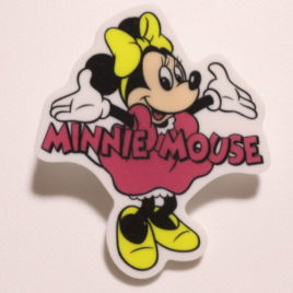 F/S Minne Mouse Magnet Clip Cute Kawaii Disney Store Kyoto Japan