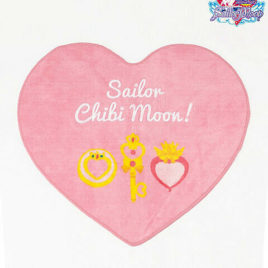 Sailor Moon Die-cut Floor Mat Sailor Chibi Moon from Kyoto Japan