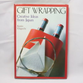 Gift Wrapping Creative Idea from Japan 124pages Hard Cover Book in English