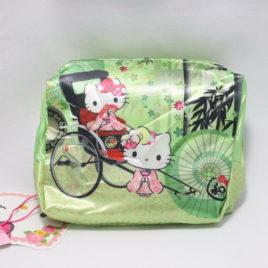 F/S Hello Kitty Cute Kawaii Compact Eco Bag Bamboo Grove Kyoto Japan