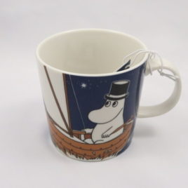 Arabia Moominpappa Blue Mug Moomin Classics Finland 300ml 2014