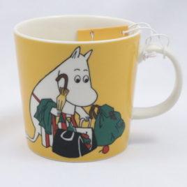 Arabia Moominmamma Apricot Yellow Mug Moomin Classics Finland 300ml 2014