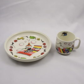 Arabia Little My Mug and Plate Set for Children Moomin Collection Cute Finland