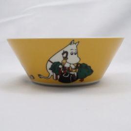 Arabia Moominmamma Bowl in Apricot Yellow 15cm Moomin Classics Finland 2014