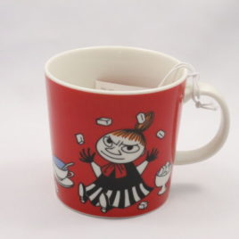 Arabia Little My Mug in Red Color Moomin Collection Finland 300ml 2015