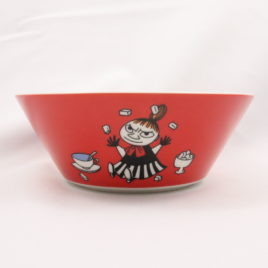 Arabia Little My Bowl in Red Color 15cm Moomin Classics Finland 2015