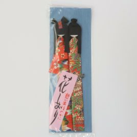 Handicraft Bookmark Japanese Paper Yuzen Dyeing Pattern 2pcs Kyoto Japan