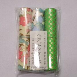 Handicraft Hair Pin Case 3pcs Set Yuzen Dyeing Paper Kyoto Suzuki Shofudo B