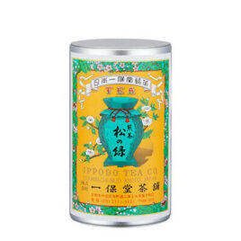 Uji Green Tea Leaves SENCHA Matsu-No-Midori Kyoto Ippodo 150g Can w/Box