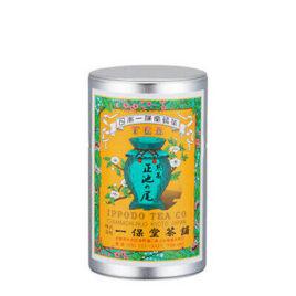 Uji Green Tea Leaves SENCHA Shoike-no-o Kyoto Ippodo 85g Small Can w/Box