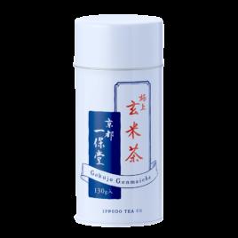 Japanese Premium Quality Gokujo Genmai Tea 130g Can by Kyoto Ippodo